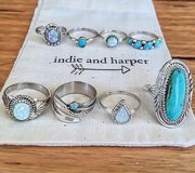 Indie Harper rings in Vista, California