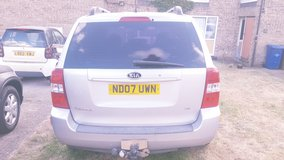 Kia Sedona 2007 in Lakenheath, UK