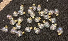 28 Mini Christmas bulb ornaments in Batavia, Illinois