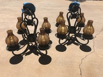 iron chandelier lamps in Alamogordo, New Mexico