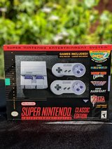 SNES CLASSIC Brand New received 9-29-2017 in Travis AFB, California