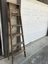 Vintage ladder for your creative use in Spring, Texas