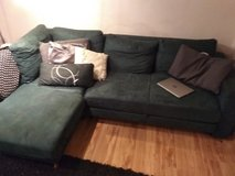 Green Sectional couch in Ramstein, Germany