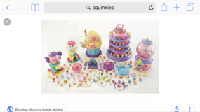 Squinkies in Plainfield, Illinois