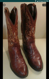 Mens Tony Llama Lizard Boots in Pearland, Texas