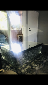 Diamond Glass Furniture set in Sacramento, California