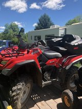 2008 Suzuki 400as Kingquad in Fort Drum, New York