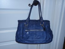 Authentic Blue Coach handbag in Fort Belvoir, Virginia