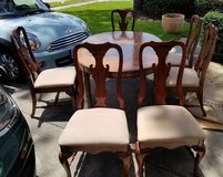 Dining table, leaf and 6 chairs in Bellaire, Texas