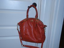 Authentic Orange Coach handbag in Fort Belvoir, Virginia
