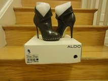 Authentic Charcoal Grey Aldo booties in Fort Belvoir, Virginia