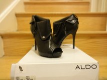 Authentic Black Aldo booties in Fort Belvoir, Virginia