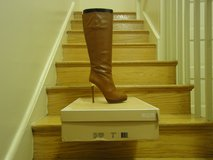 "Authentic ""never worn"" Luggage Michael Kors boots in Bolling AFB, DC"