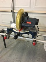 Compound Miter saw and stand in The Woodlands, Texas