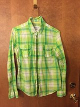 Green Plaid shirt. (Jr. Lg) in Naperville, Illinois