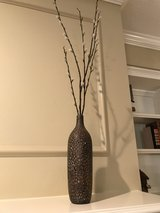 Pussy Willows in Ceramic Vase in The Woodlands, Texas
