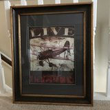 Vintage AIRPLANE Print in The Woodlands, Texas