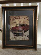 Vintage CAR Print in The Woodlands, Texas