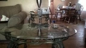 beveled glass and wrought  tables in Joliet, Illinois