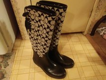 Coach rain boots in Fort Campbell, Kentucky