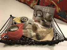 TEA SET on Iron & Wicker TRAY in The Woodlands, Texas