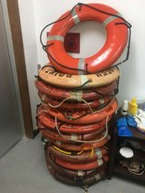Lifebuoy ring in Okinawa, Japan