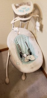Baby swing in Fort Leonard Wood, Missouri