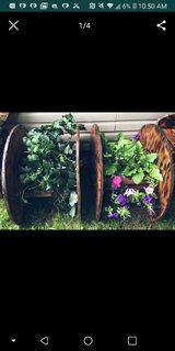 spool planters in Fort Campbell, Kentucky
