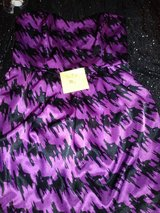 deb dress black & purple in Fort Campbell, Kentucky