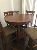 Pub Style Table & Four Chairs in Camp Lejeune, North Carolina