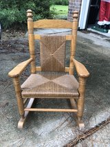 child wooden antique rooking chair in Kingwood, Texas