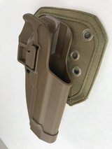Blackhawk! Concealment Holster Paddle Belt Loop Ruger 92 96 C1208 in Camp Pendleton, California
