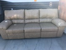 free leather recliner sofa in 29 Palms, California