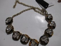 NWT J CREW RHINESTONE AND TORTOISE SHELL NECKLACE in Cleveland, Texas
