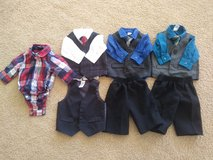 Newborn boy suits/dress clothes lot 13 pc in 29 Palms, California