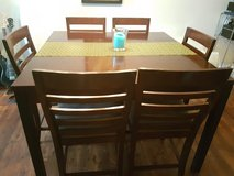 High Rise Dining Table with Six Chairs in Stuttgart, GE