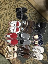 Lot of 10 pairs of infant shoes in Plainfield, Illinois