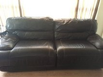 genuine leather couch in Lawton, Oklahoma