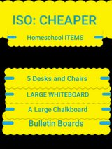 ISO: HOMESCHOOL Items in Fort Leonard Wood, Missouri