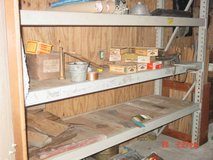 Industrial shelving in The Woodlands, Texas
