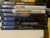 PS4 Games -- CHEAP in Warner Robins, Georgia