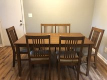 Dining set in Fort Campbell, Kentucky