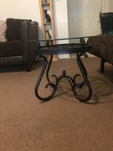 Wrought iron coffee-end table in Fort Hood, Texas