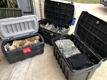 My TA50 Hoard in Fort Leonard Wood, Missouri
