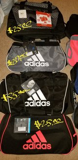 Puma & Adidas athletic bags in Camp Lejeune, North Carolina
