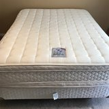 Sealy Posturpedic Queen Size Bed in Fort Campbell, Kentucky