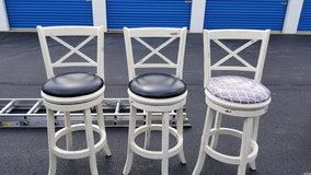 Distressed Barstools in Naperville, Illinois