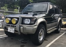 1996 Mitsubishi Pajero Turbo Diesel 4X4 in Okinawa, Japan