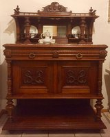 Antique Sideboard Buffet / Credenza Server / Bar / Cabinet in Ramstein, Germany