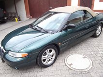 Chrysler Stratus convertible, V6 automatik, leather seats, only 95 K miles in Ramstein, Germany